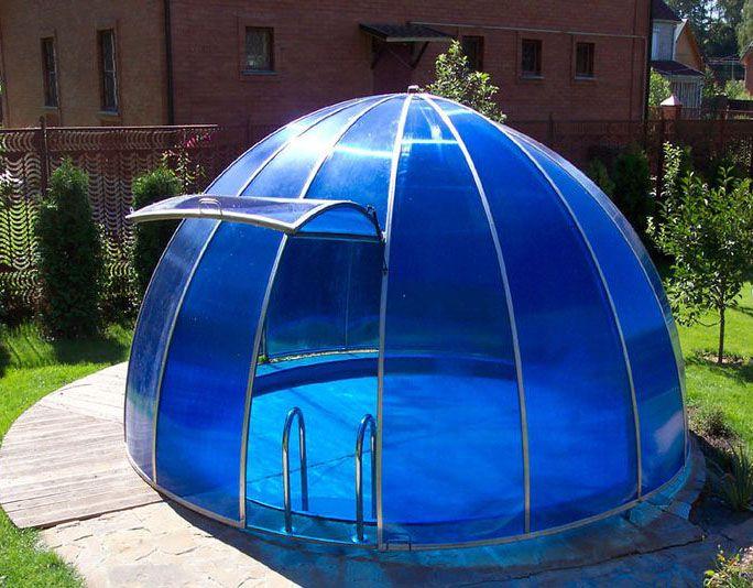 Павильон круглый для бассейна своими руками
